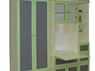 Свежее фотографию Мебель для детей Стенка подростковая новая 33039319 в Москве