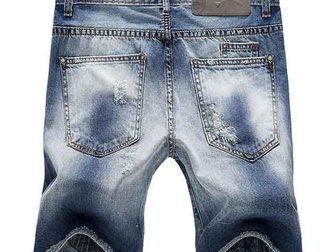 Увидеть foto Мужская одежда Джинсовые шорты Philipp Plein 33053003 в Москве