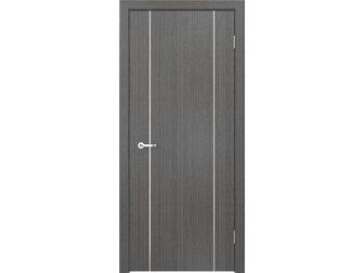 Новое foto  Межкомнатная дверь Кредо, Модерн, ПДГ 116 дуб седой, 33060062 в Москве