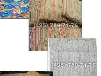 Просмотреть фотографию Мебель для спальни Матрацы ватные, Белье, Кровати для бытовок 33116353 в Москве