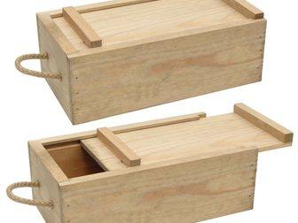 Уникальное foto Кухонные приборы Деревянные коробочки для вина 33194061 в Москве