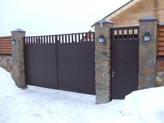 Новое изображение Строительные материалы Автоматические распашные ворота для загородного участка 33254776 в Москве
