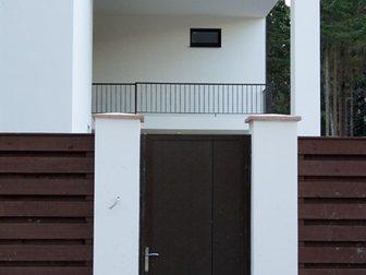 Скачать бесплатно фотографию Строительные материалы Автоматические распашные ворота для загородного участка 33254776 в Москве