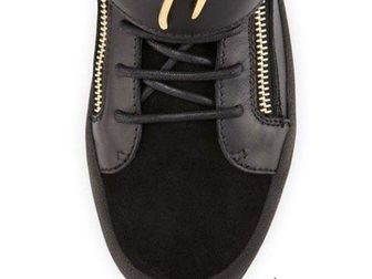 Увидеть фото Мужская обувь Мужские сникерсы Giuseppe Zanotti High-Top 33290902 в Москве