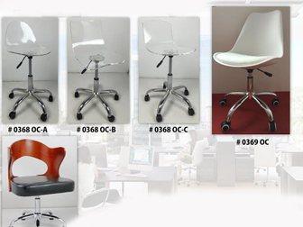 Скачать фото  Для офиса прозрачные акриловые стулья на колесах оптом и в розницу 33309864 в Москве
