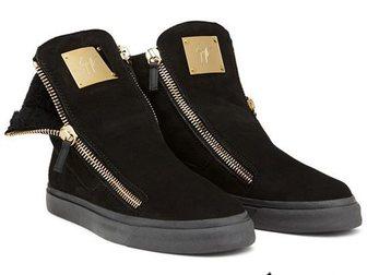 Смотреть фото Мужская обувь Зимние ботинки на меху Giuseppe Zanotti 33334923 в Москве