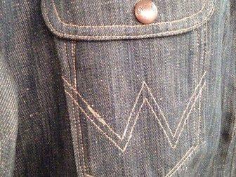 Скачать фотографию Мужская одежда Джинсовка Wrangler XL(50-52) 33605036 в Москве