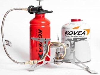 Просмотреть фото Товары для туризма и отдыха Мультитопливная горелка Kovea Dual Max (газ, бензин) 33759154 в Москве