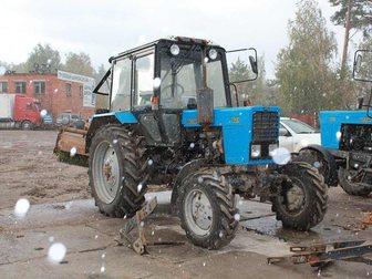 Скачать бесплатно фотографию  Мтз 82, 1 Трактор 2013-й год выпуска + навеска 33768603 в Москве