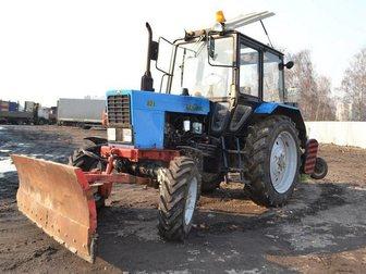 Скачать фото  Мтз 82, 1 Трактор 2013-й год выпуска + навеска 33768603 в Москве