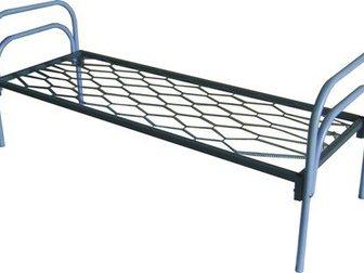 Скачать бесплатно изображение  Кровати металлические для лагеря, кровати для гостиницы, кровати оптом, кровати для рабочих, кровати оптом, 33795982 в Москве