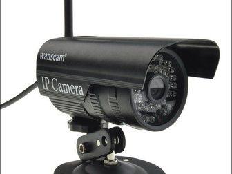 Смотреть изображение Видеокамеры Распродаем Уличные IP камеры с возможностью подключения wifi, 33888304 в Москве