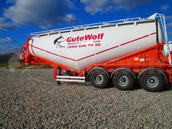 Скачать foto  Цементовоз GuteWolf, 36м3, вакуумный с системой самозагрузки/саморазгрузки 34041398 в Москве