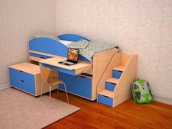 Скачать бесплатно foto Детская мебель Кровать детская Караван 5/3 34043490 в Москве