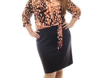 Уникальное изображение  Прямой поставщик женской одежды больших размеров, Мелкий и крупный опт, 34078472 в Абакане