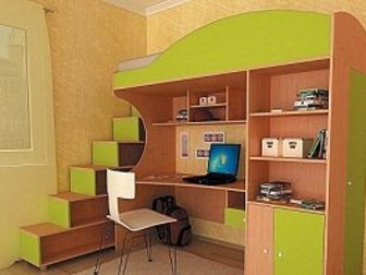 Уникальное фото  Детская кровать Облачко 3 34116169 в Воронеже