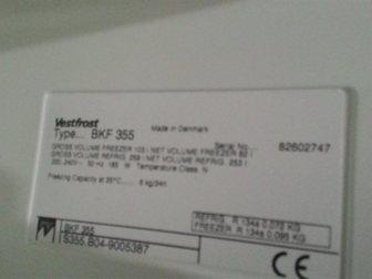 Просмотреть фото Холодильники Холодильник Vestfrost BKF355, БУ, рабочий 34128154 в Москве