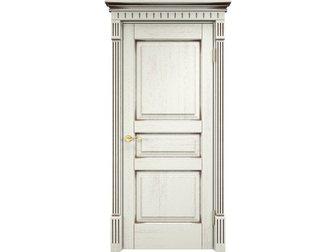 Свежее изображение  Межкомнатная дверь, массив дуба, F120 патина черная, Д 5, пг, комбинированный карниз возвышение, 34137587 в Москве
