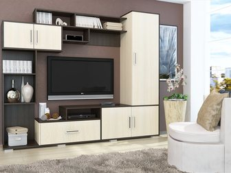 Скачать бесплатно фото Мебель для гостиной Стенка для гостиной Пекин , арт, 9005 34163070 в Москве