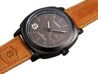 Увидеть фотографию  Часы Curren 8139 (черный циферблат) 34664691 в Москве