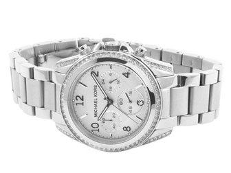 Новое foto Часы Часы женские MK Blair, серебряные 34698374 в Москве