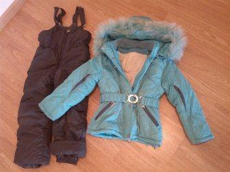 Увидеть фото Женская одежда Костюм зимний на девочку р110 34839854 в Москве