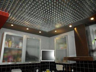 Смотреть фотографию  Подвесные потолки: Грильято, кассетные, реечные, Светодиодные светильники 34960870 в Саратове