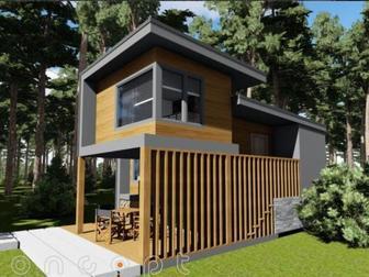 Уникальное фотографию  Строительство мини-домов, дач, бань Санкт-Петербург 35479155 в Москве