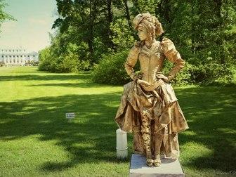 Новое foto  Живые статуи 35893053 в Москве