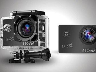 Свежее изображение  Экшен-камера SJ4000 Black (оригинал) 36167127 в Новосибирске