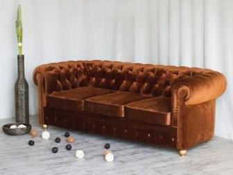 Скачать foto Мягкая мебель Диван Честерфилд от фабрики Soft-Wall 36616594 в Москве