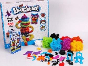 Увидеть фотографию Детские игрушки Конструктор-липучка Банчемс оптом, 400шт (есть в наличии) 37694759 в Москве