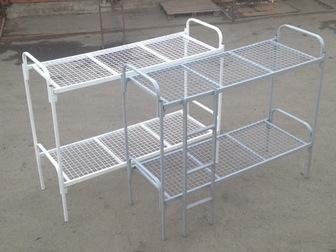 Скачать foto Мебель для спальни Кровати металлические оптом, кровати для рабочих 37773083 в Москве