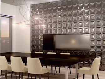 Свежее фото  Акция, Стеновые 3D панели для вашего интерьера от компании Kamennoff 37886520 в Москве