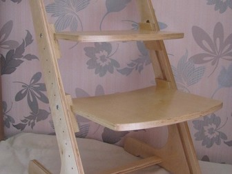 Смотреть изображение  Детский растущий стул 38742590 в Москве