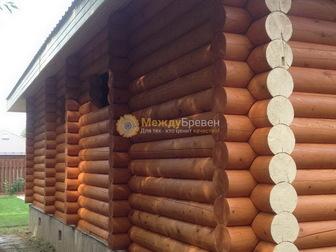 Свежее фото Строительные материалы Утепление и отделка деревянных домов во Владимирской и Московской областях, 38829731 в Владимире