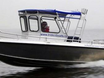 Увидеть foto  Купить катер (лодку) Trident 720 WA 38872875 в Твери