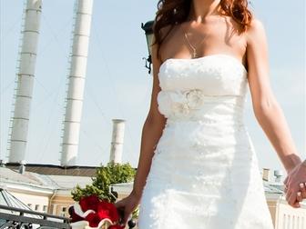 Новое foto Свадебные платья Платье свадебное со шлейфом айвори 39718203 в Москве