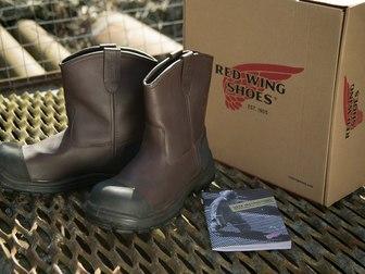 """Смотреть изображение  Распродажа кожаной обуви класса Premium """"Red Wing Shoes"""",США 40159343 в Москве"""