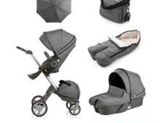Новое foto Детские коляски Stokke Xplory V5 полная коляска + люлька - Полная версия 40732772 в Москве
