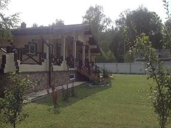Скачать изображение Дома Продаётся 2-х этажный дом из бруса в стиле Шале площадью 337 м2, МО, Истринский р-н, пос, Северный 43086585 в Москве