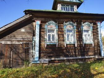 Свежее изображение  Жилой бревенчатый дом в тихой деревне, на берегу небольшой речки, 190 км от МКАД 49790572 в Москве