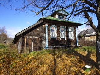 Уникальное фотографию  Жилой бревенчатый дом в тихой деревне, на берегу небольшой речки, 190 км от МКАД 49790572 в Москве