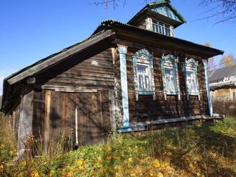 Увидеть foto  Жилой бревенчатый дом в тихой деревне, на берегу небольшой речки, 190 км от МКАД 49790572 в Москве
