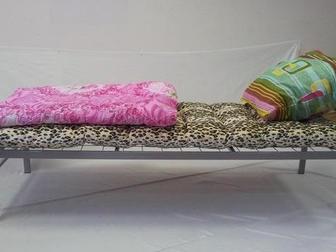 Скачать foto Мебель для спальни Кровати металлические от производителя по очень доступным ценам 66522342 в Тюмени