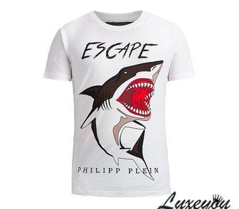 Фото в Одежда и обувь, аксессуары Мужская одежда Крутая футболка с акулой от Philipp Plein. в Москве 2900