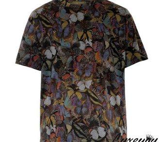 Изображение в Одежда и обувь, аксессуары Мужская одежда Стильная мужская футболка с бабочками от в Москве 3200