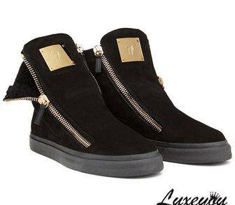 Фотография в Одежда и обувь, аксессуары Мужская обувь Высокие замшевые мужские ботинки на меху в Москве 7900