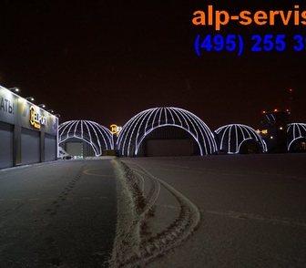 Фотография в Услуги компаний и частных лиц Разные услуги Выполним монтаж подсветки фасадов зданий в Москве 690