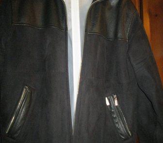 Фото в   Продаю стильную мужскую куртку, чёрная замша, в Краснодаре 4000